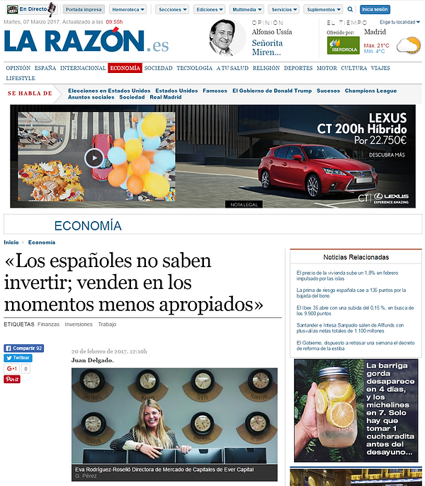 Ever Capital Investment La Razon