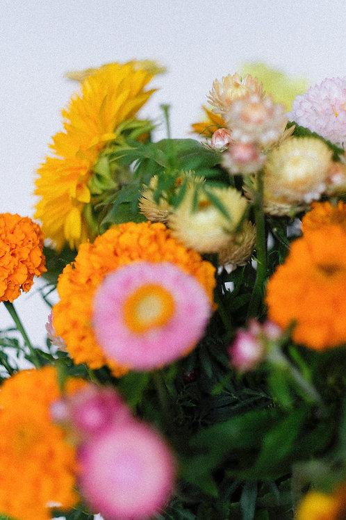 wekelijks verse bloemen
