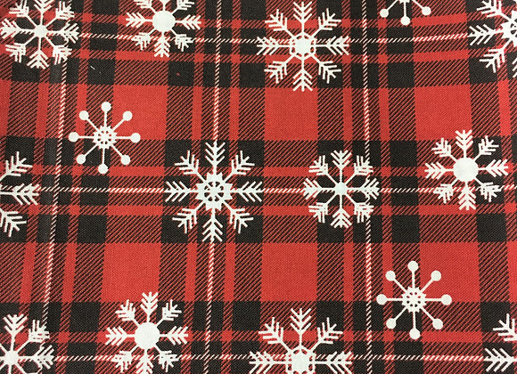Buffalo Plaid Snowflakes