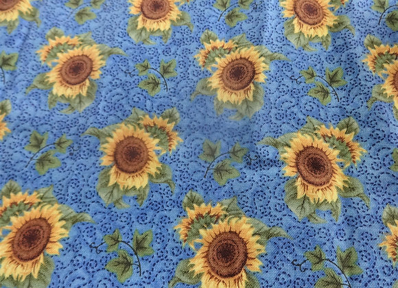 Sunflowers in Denim