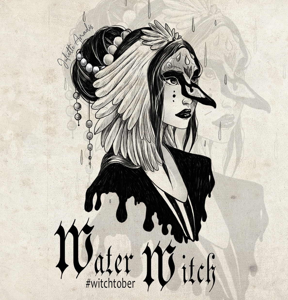 Witchtober 07 - Water Witch