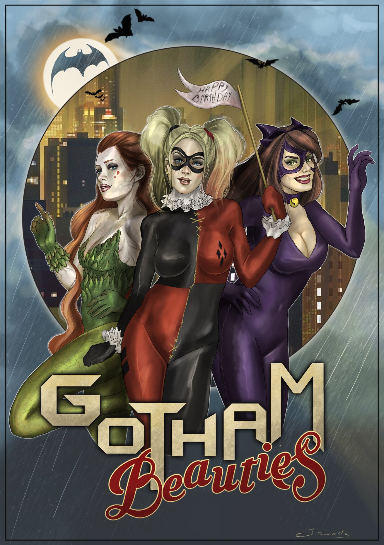 Gotham Beauties