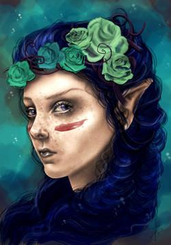 Héloïse bleutée