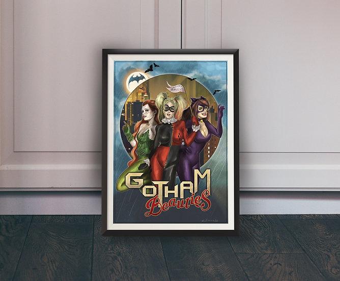 Affiche Gotham Beauties