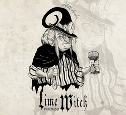 Witchtober 22 : Time Witch