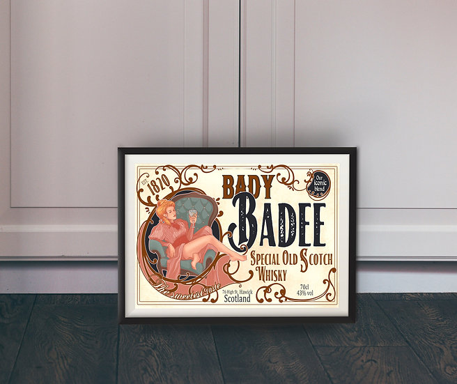 Affiche Bady Badee