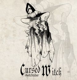 Witchtober 02 - Cursed Witch