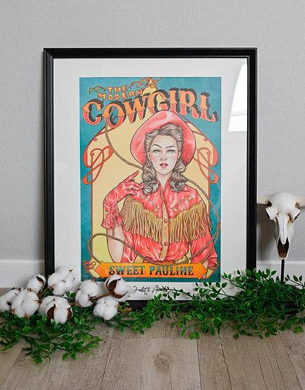 Dessin original The Modern Cowgirl