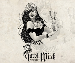 Witchtober : Tarot Witch
