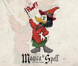 Witchtober 19 : Magica De Spell