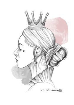 Reine de coeur