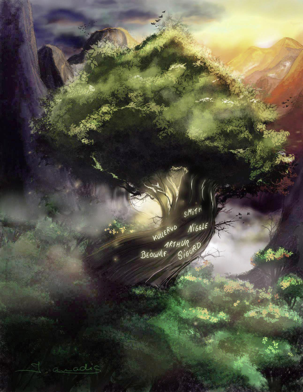 Arbre de Tolkien