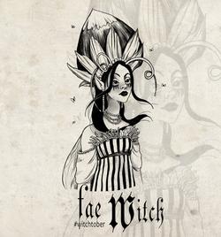 Witchtober 11 : Flower Witch