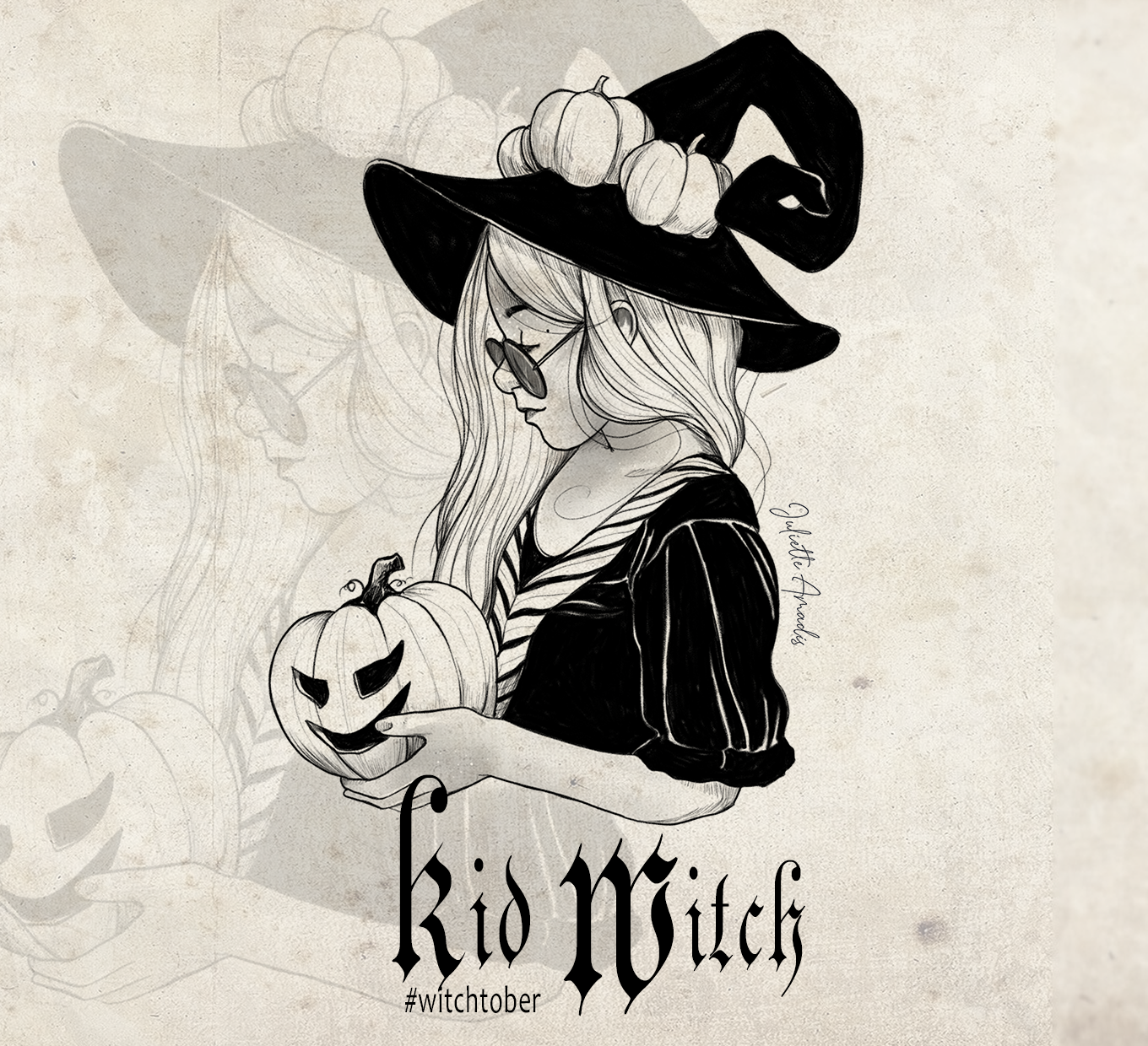Witchtober 27 : Kid Witch
