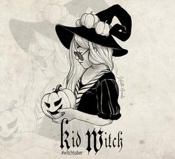 Witchtober 27 : Kid Witch
