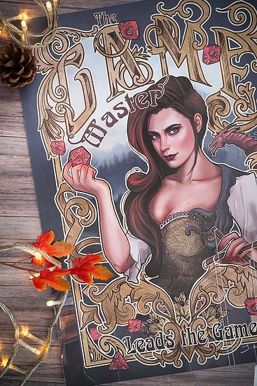 Affiche Game Master