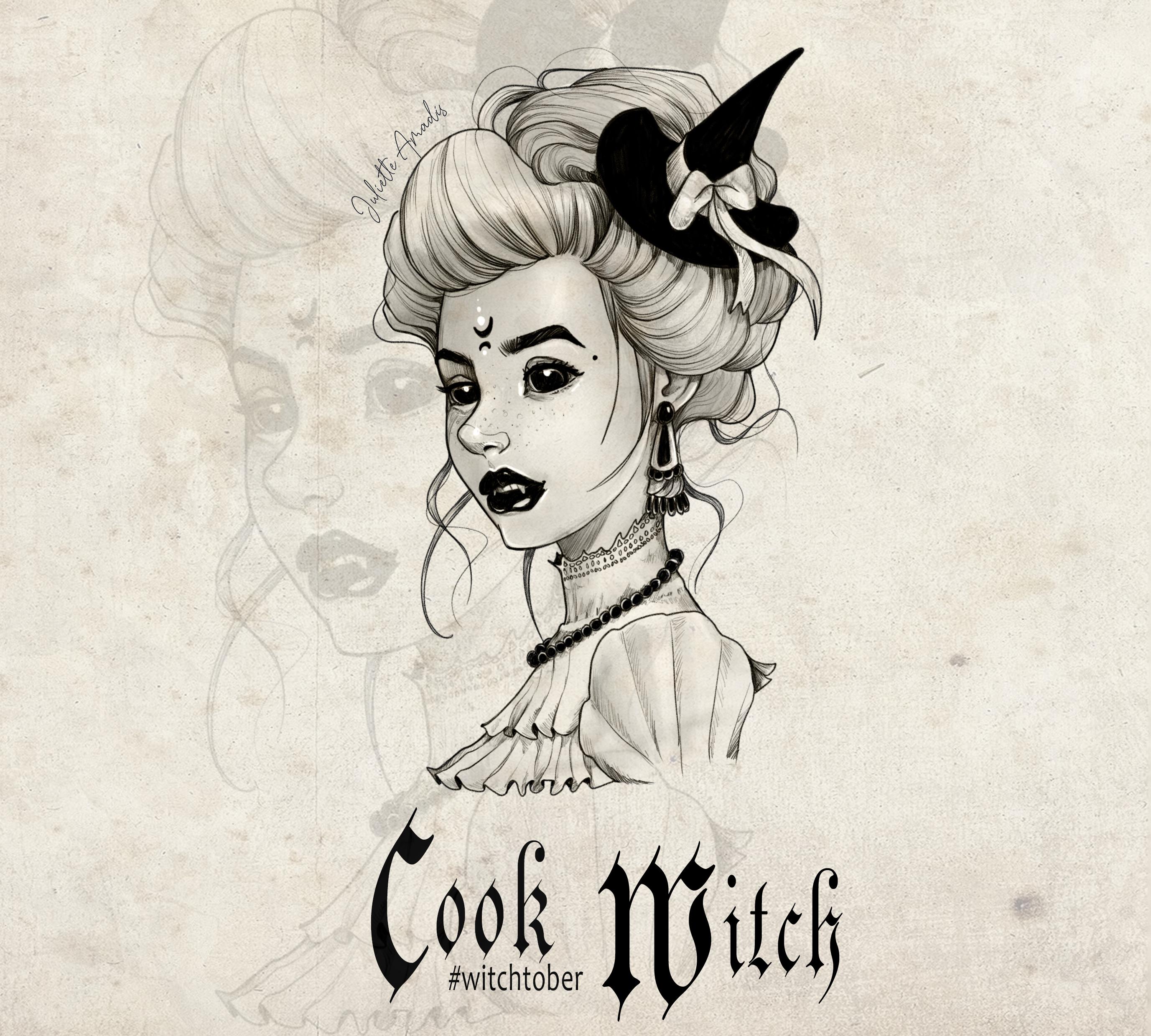 Witchtober 16 : Vampire Witch