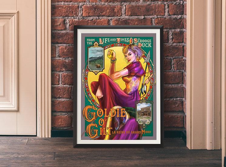 Affiche Goldie O'Gilt