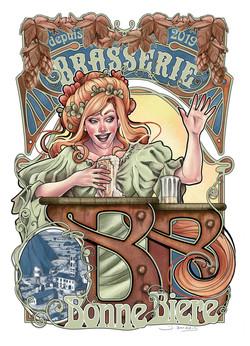 Commande pour la Brasserie Bonne Bière