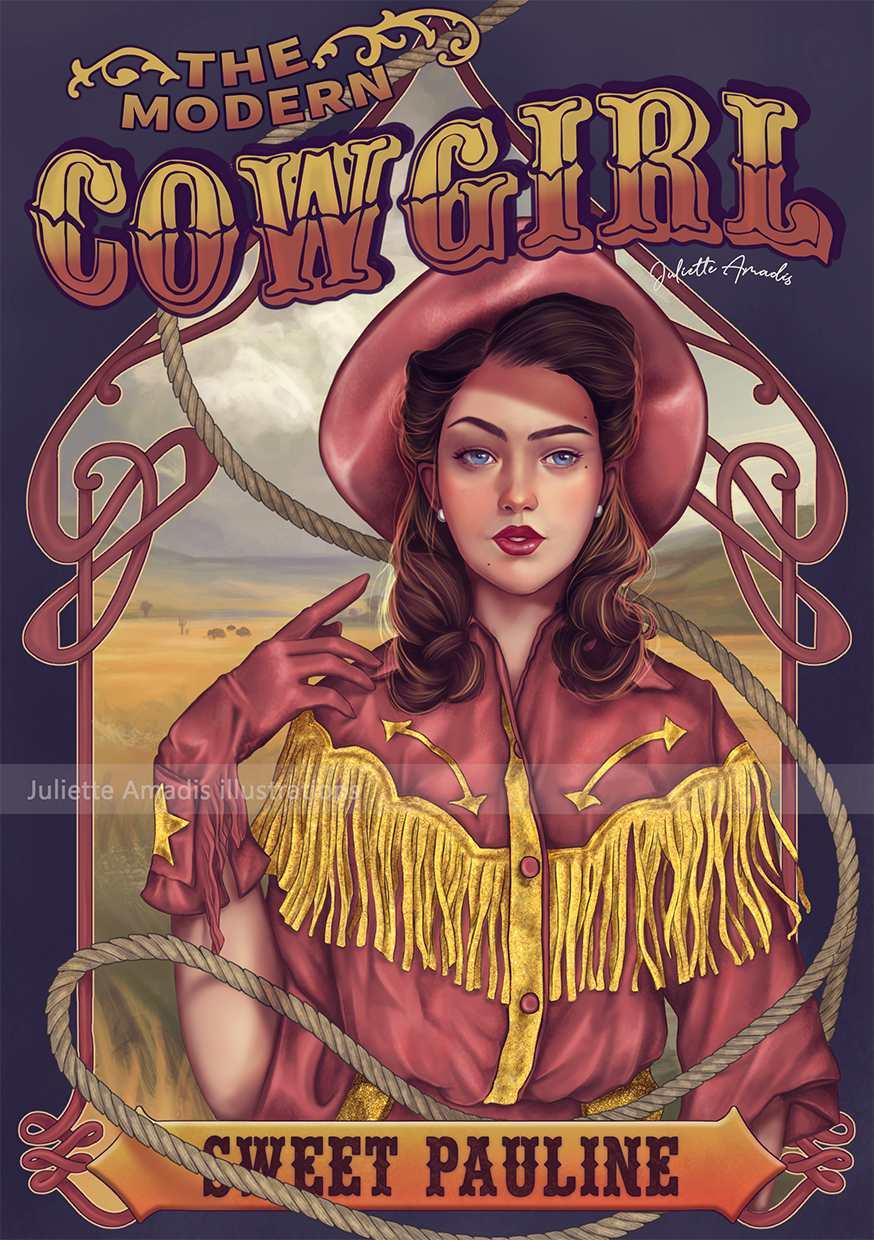 The Modern Cow Girl - version digitale