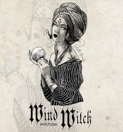 Witchtober 09 - Wind Witch