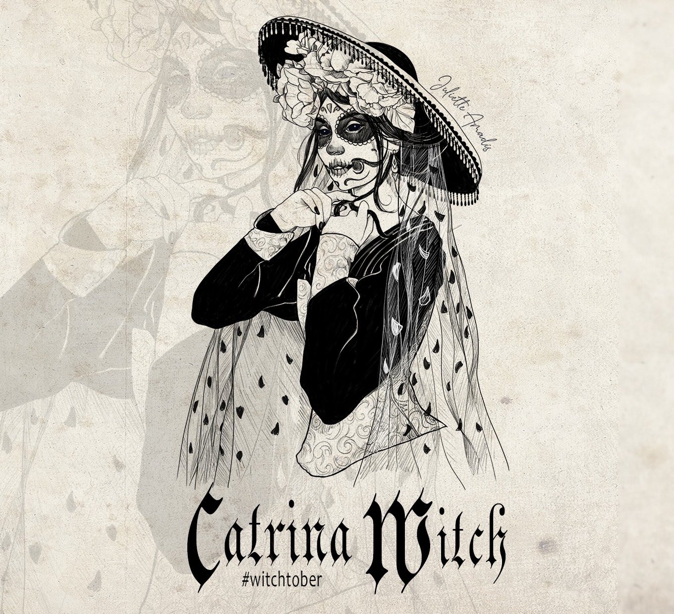 Witchtober 28 : Catrina Witch