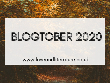 My Blogtober Schedule | Blogtober Day One, 2020