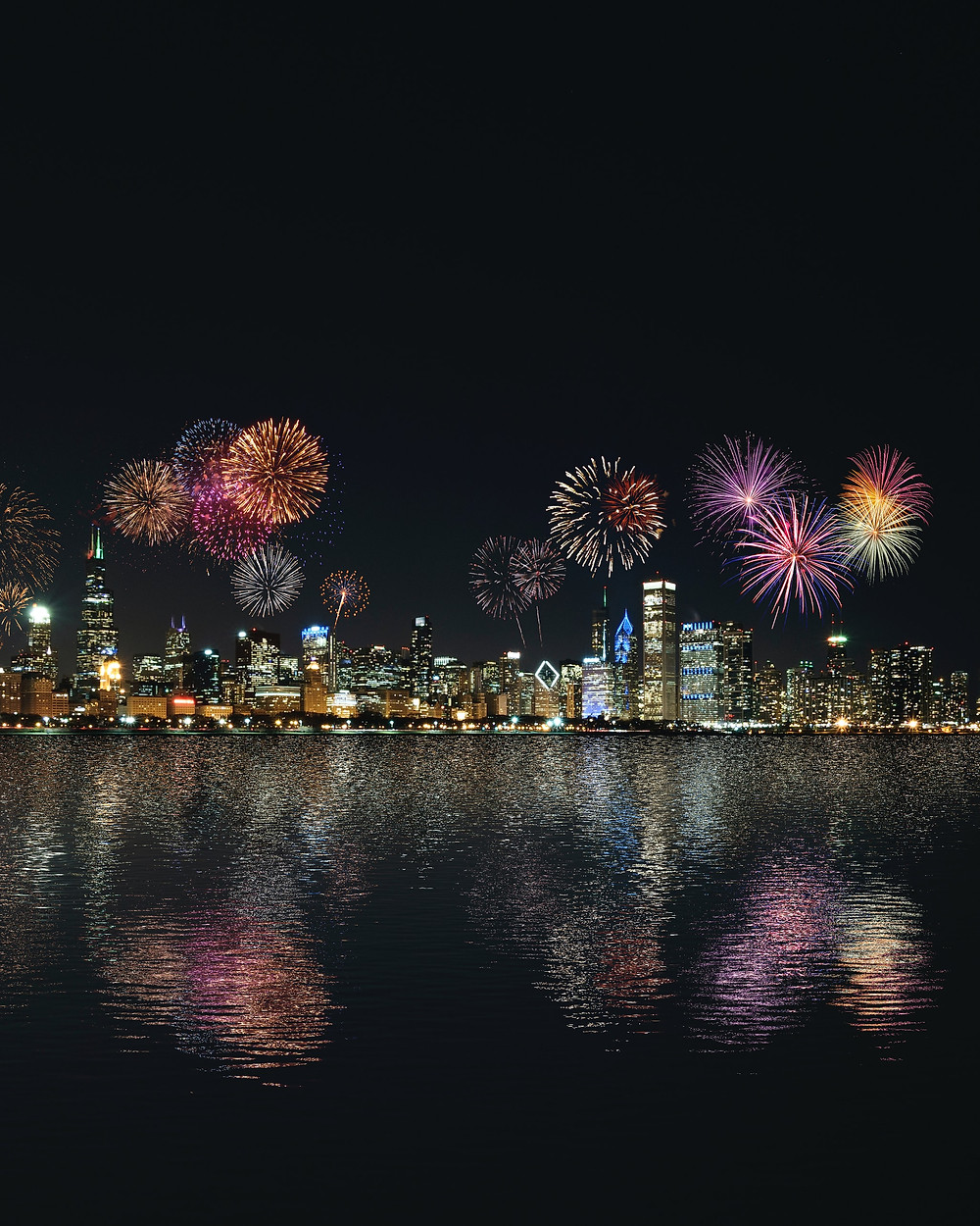 New Year's Fireworks 2021. Image from Unsplash.