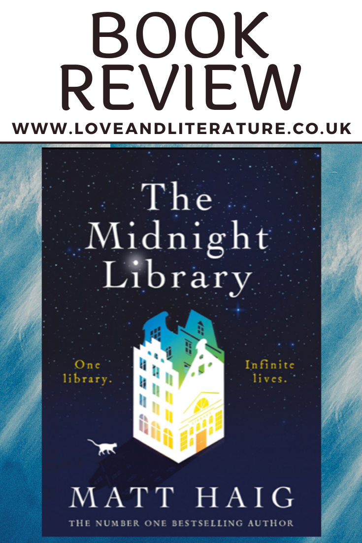 The Midnight Library Matt Haig Pin