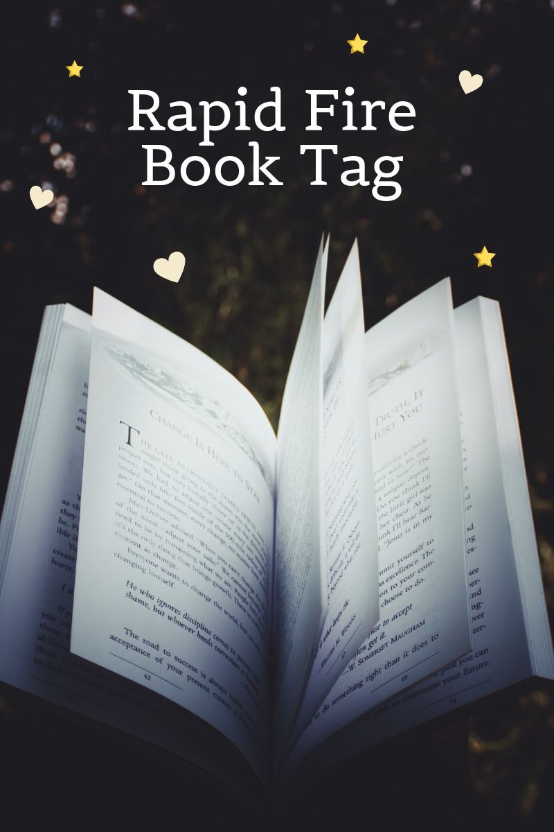 Rapid Fire Book Tag Graphic
