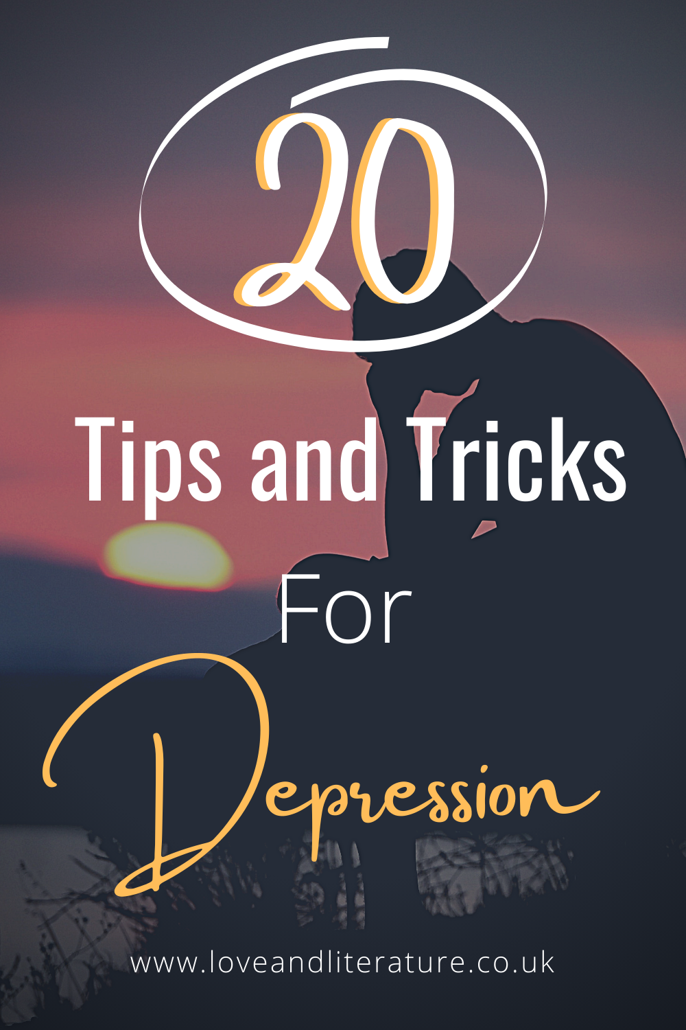 20 Tips and Tricks for Depression Pin