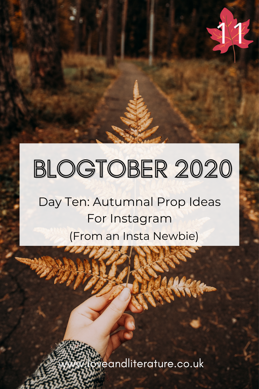 Autumnal Prop Ideas For Instagram Pin
