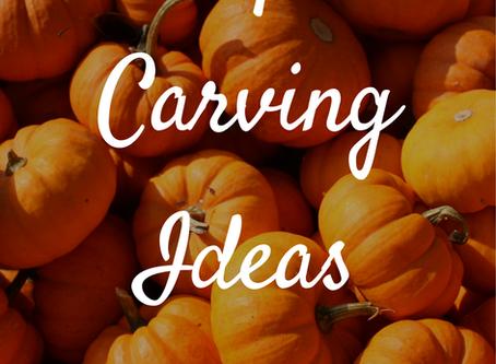 Pumpkin Carving Ideas | Blogtober Day Ten, 2020