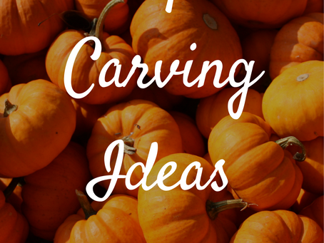 Pumpkin Carving Ideas | Blogtober Day Ten, 2020