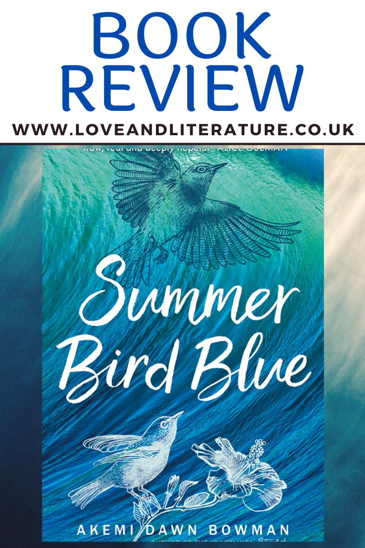 'Summer Bird Blue', Akemi Dawn Bowman Pin