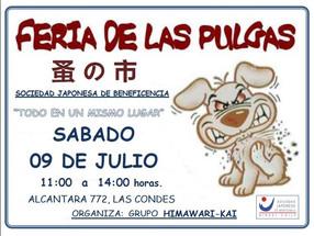 9/07 SANTIAGO | Feria de las Pulgas en SJB