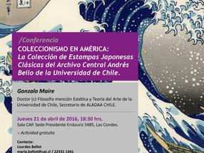 21/04 SANTIAGO | Conferencia sobre Colección de Estampas Japonesas en Universidad de Chile