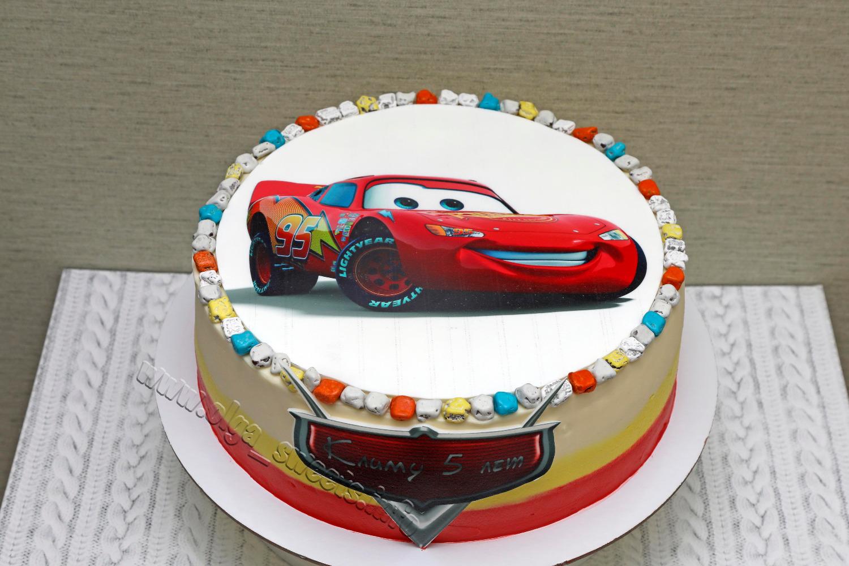 своих закромах торт с маквином фото используется штампованная