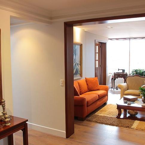 Remodelación integral Apartamento 134 Hall