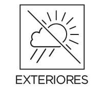 Uso exteriores Prosein - Producto que se puede utilizar en espacios exteriores.