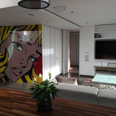 Remodelación integral Apartamento 801 Sala