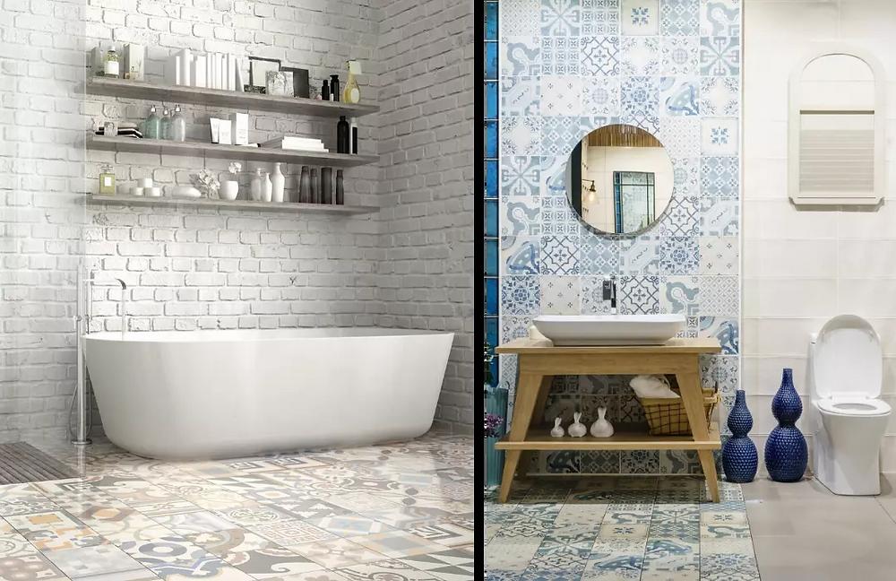 Mosaicos baño