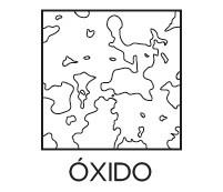Estilo óxido Prosein - Producto que su diseño simula una lámina oxidada.