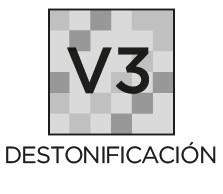 Destonificación V3 moderada Prosein - La variación de tono destonificación es inherente a todos los productos cerámicos.