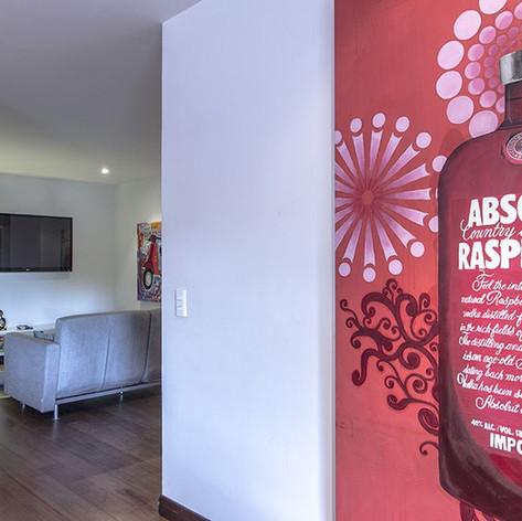 Remodelación integral Apartamento Larsen Hall