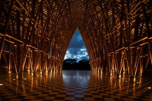 Pabillion de Bambú en Expo Hannover