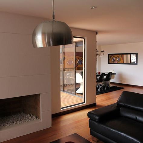 Remodelación integral Apartamento Larsen Chimenea