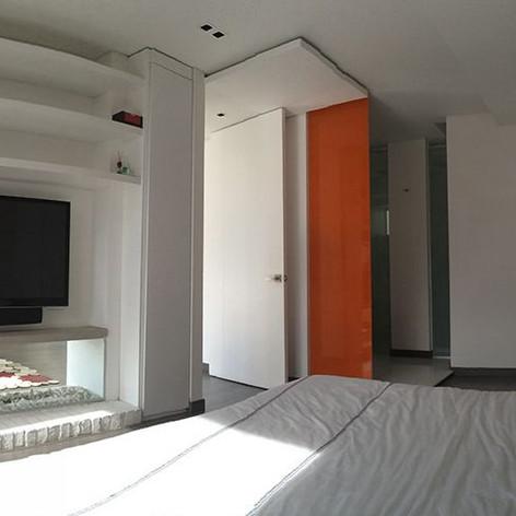 Remodelación integral Apartamento 801 Habitación
