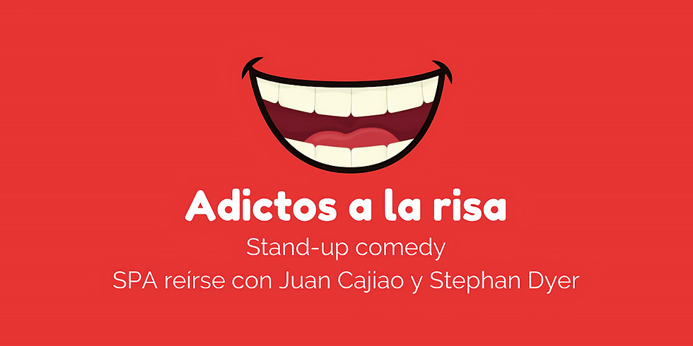 Adictos a la risa Stand-up comedy con Juan Cajiao y Stephan Dyer (1)