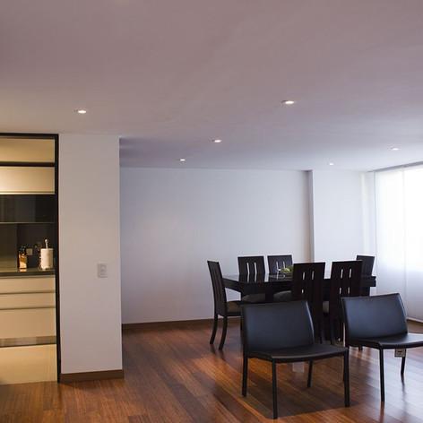 Remodelación integral Apartamento 116 Comedor